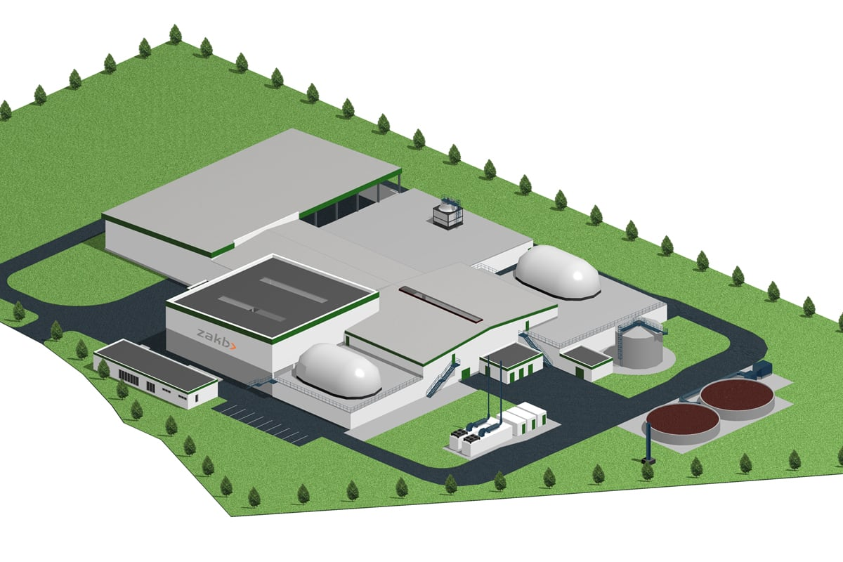 Heppenheim Biogas Plant   Donges SteelTec