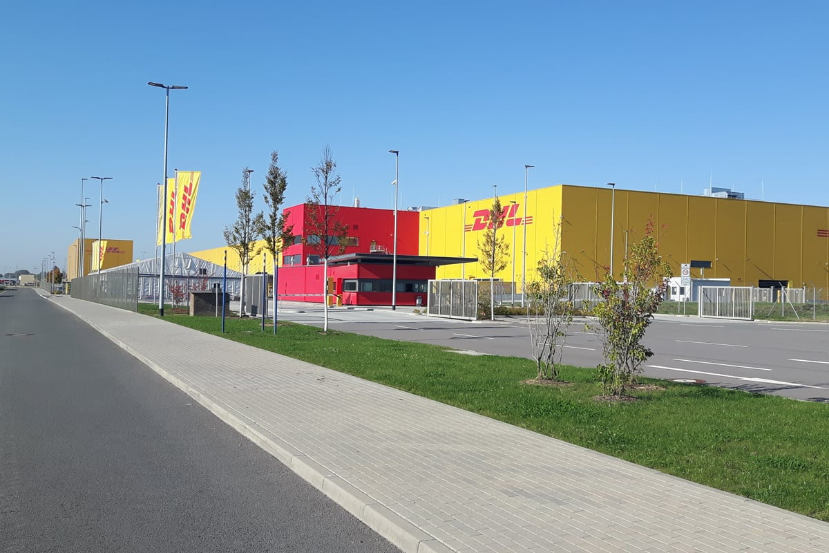 Dhl Air Hub Leipzig Donges Steeltec